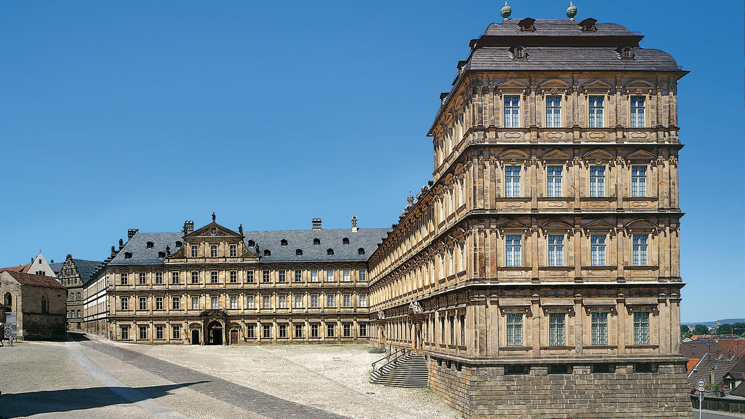 Nieuwe residentie, Bamberg, Beieren, Duitsland