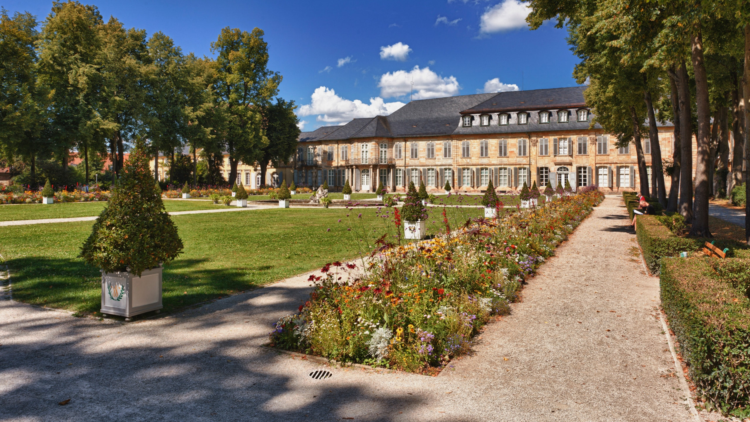 Neues Schloss Bayreuth, Bayreuth, Bayern, Deutschland