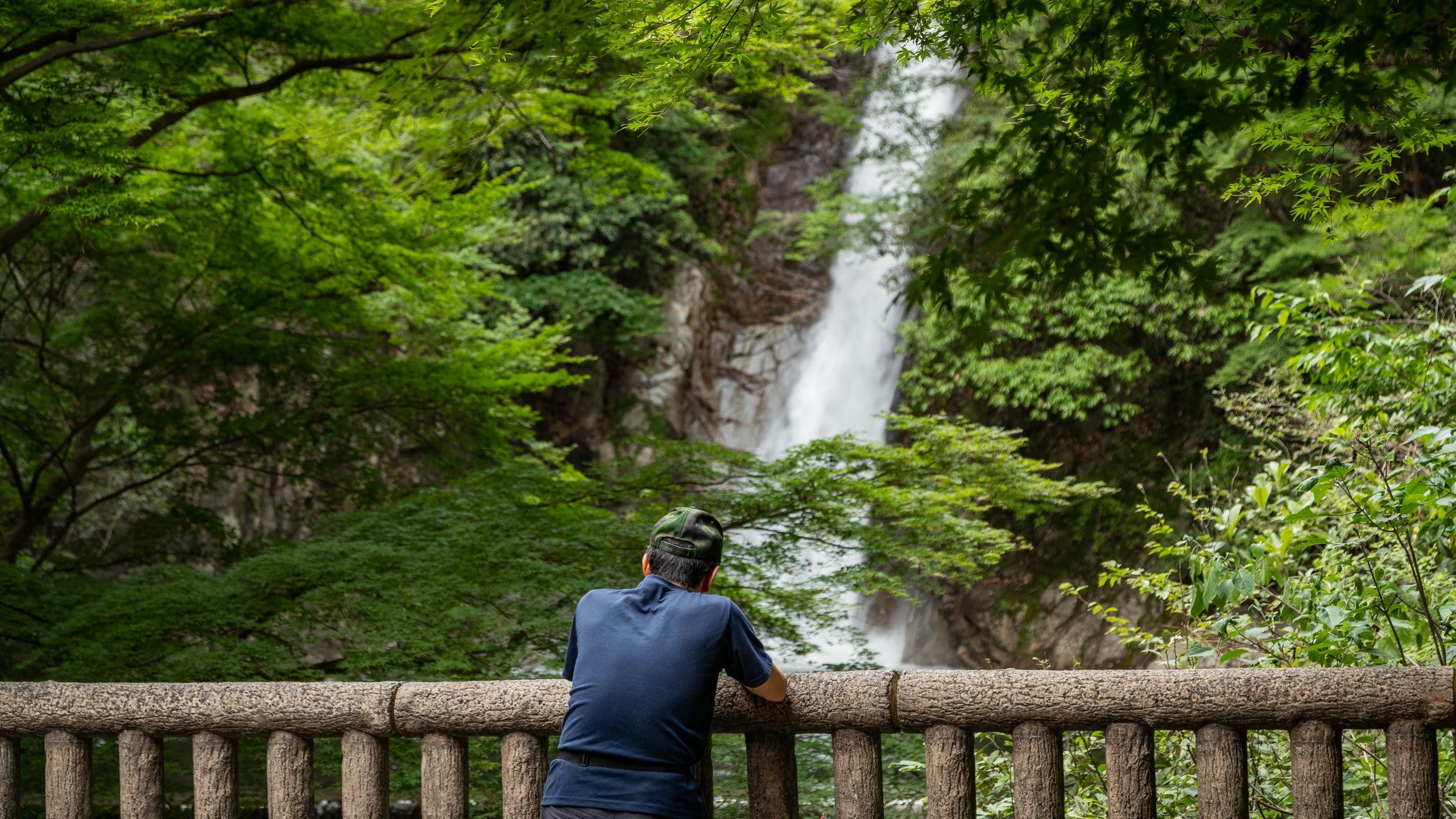 Nunobiki-watervallen, Kobe, Hyogo (prefectuur), Japan