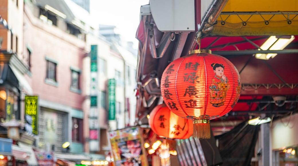 Nankin-machi featuring heritage elements