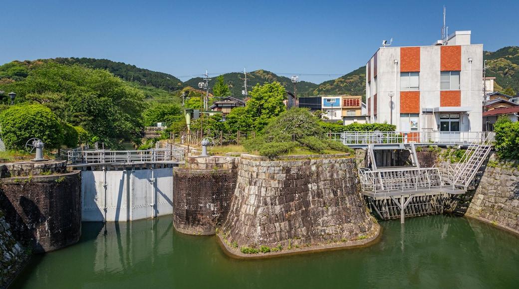 Lake Biwa Canal featuring a river or creek