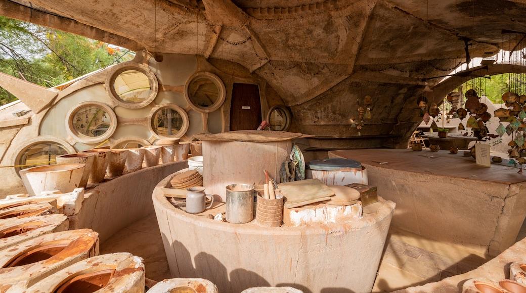 Cosanti which includes interior views