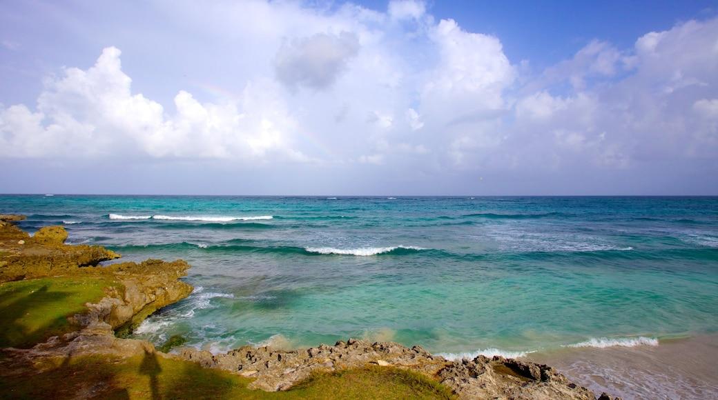 Silver Sands Beach welches beinhaltet Landschaften, Strand und allgemeine Küstenansicht
