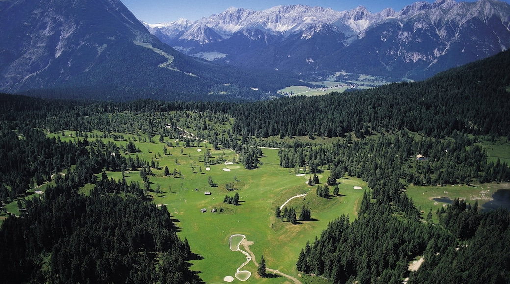 Seefeld in Tirol showing mountains, landscape views and forest scenes