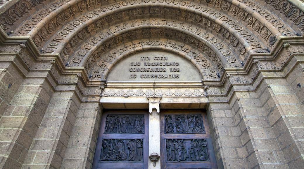 마닐라 성당 을 특징 문화유산 건축, 종교적 측면 과 신호