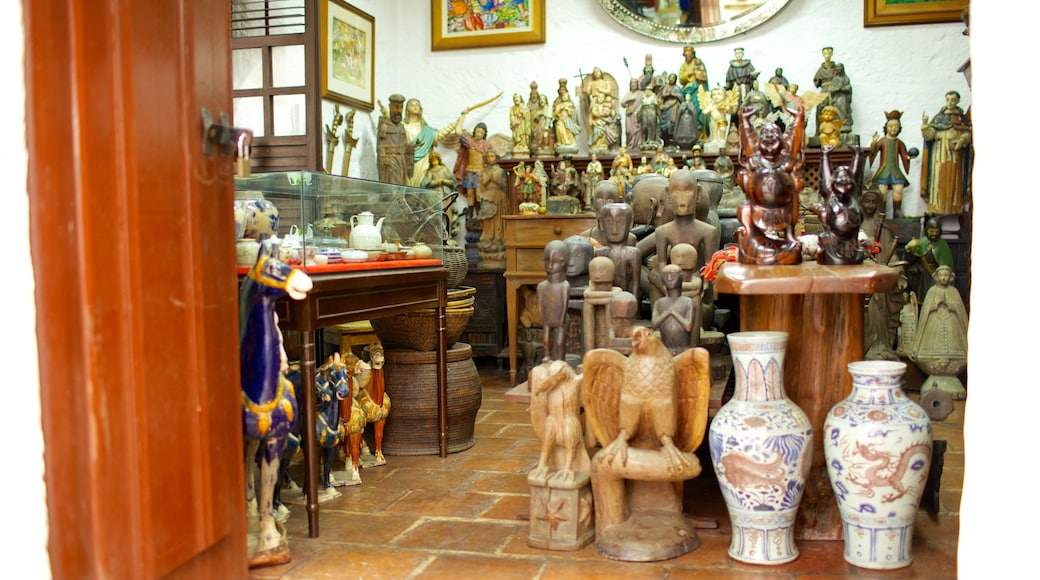 Casa Manila Museum which includes interior views