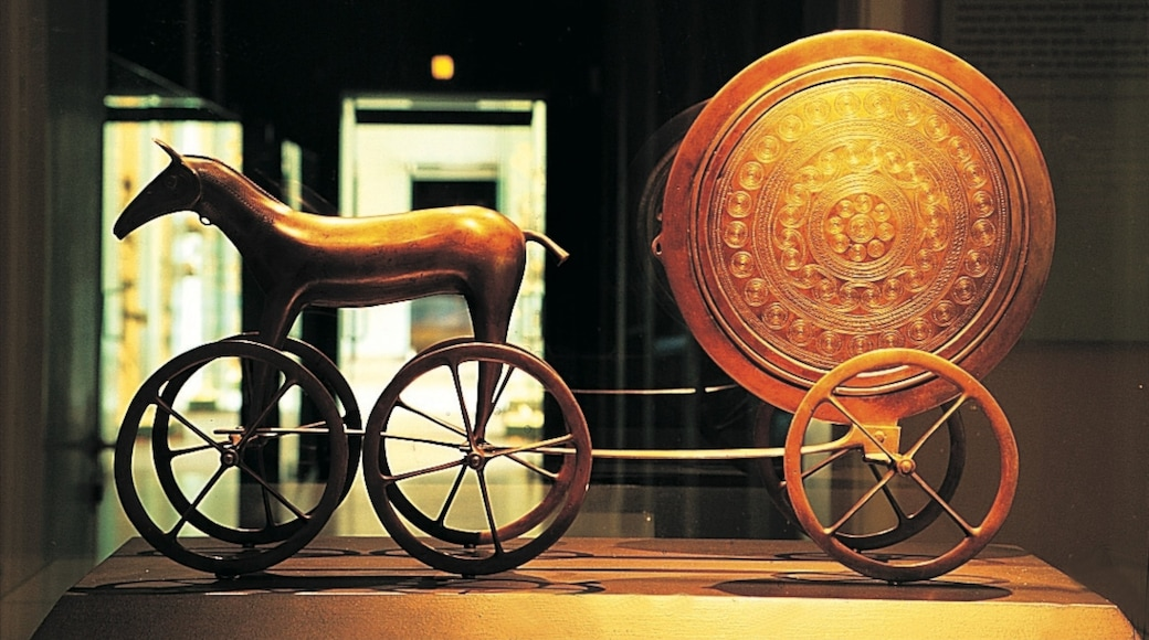 Musée national du Danemark qui includes vues intérieures