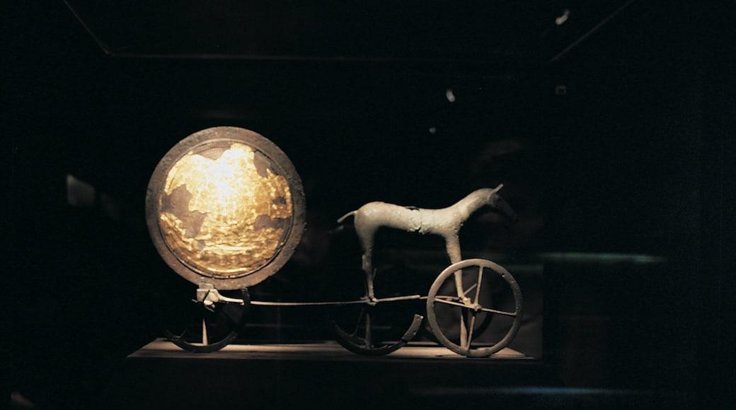Musée national du Danemark montrant vues intérieures