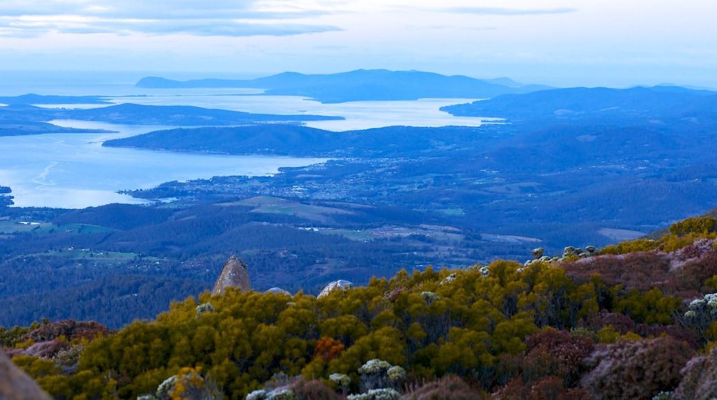 Mt. Wellington showing landscape views, general coastal views and mountains