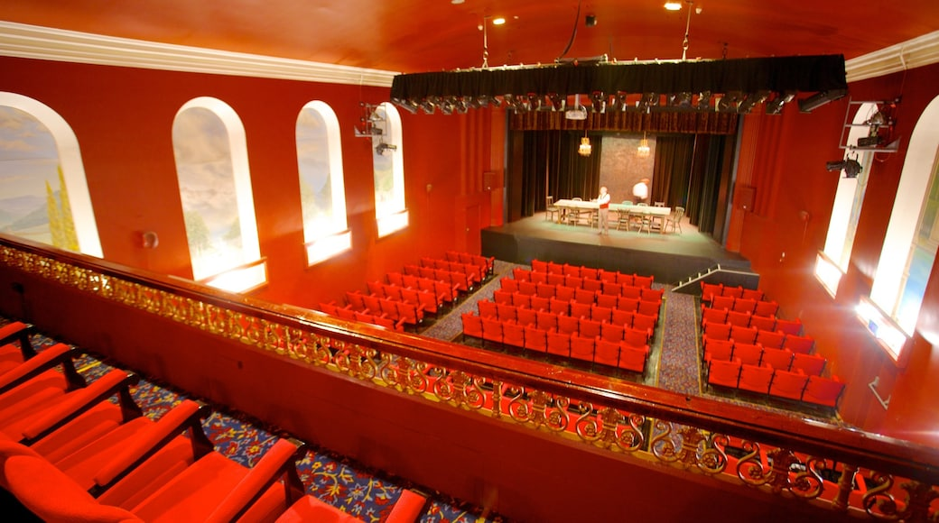 Playhouse Theatre showing theatre scenes and interior views