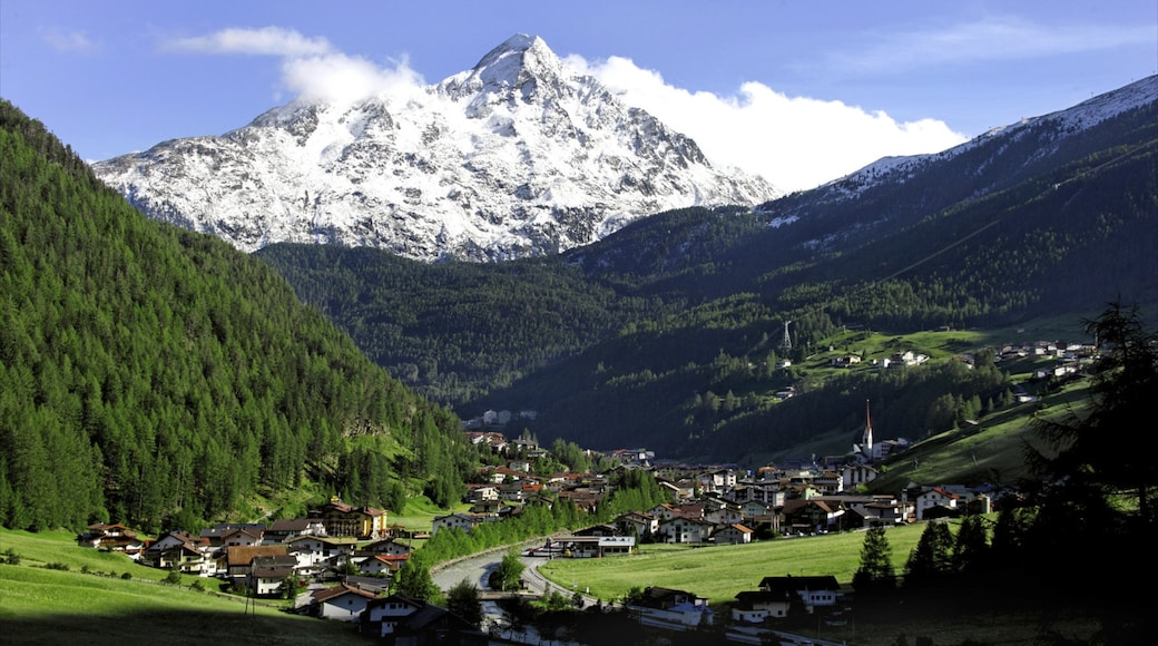 Austria which includes forests, landscape views and snow
