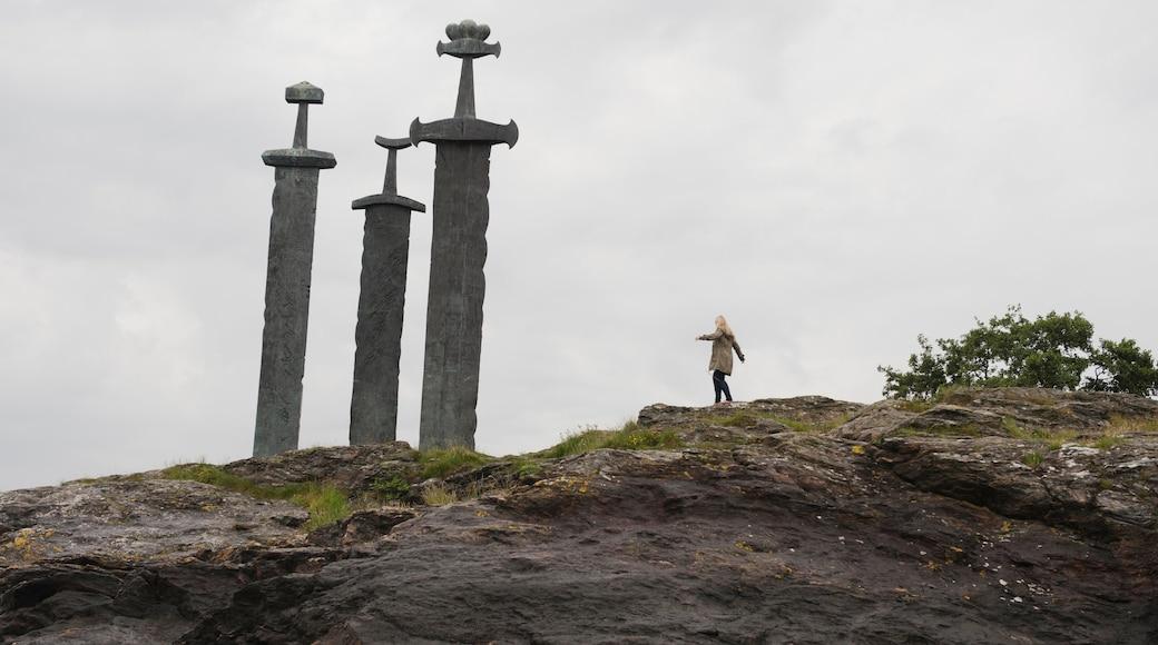 斯塔萬格 呈现出 景觀, 紀念物 和 古蹟