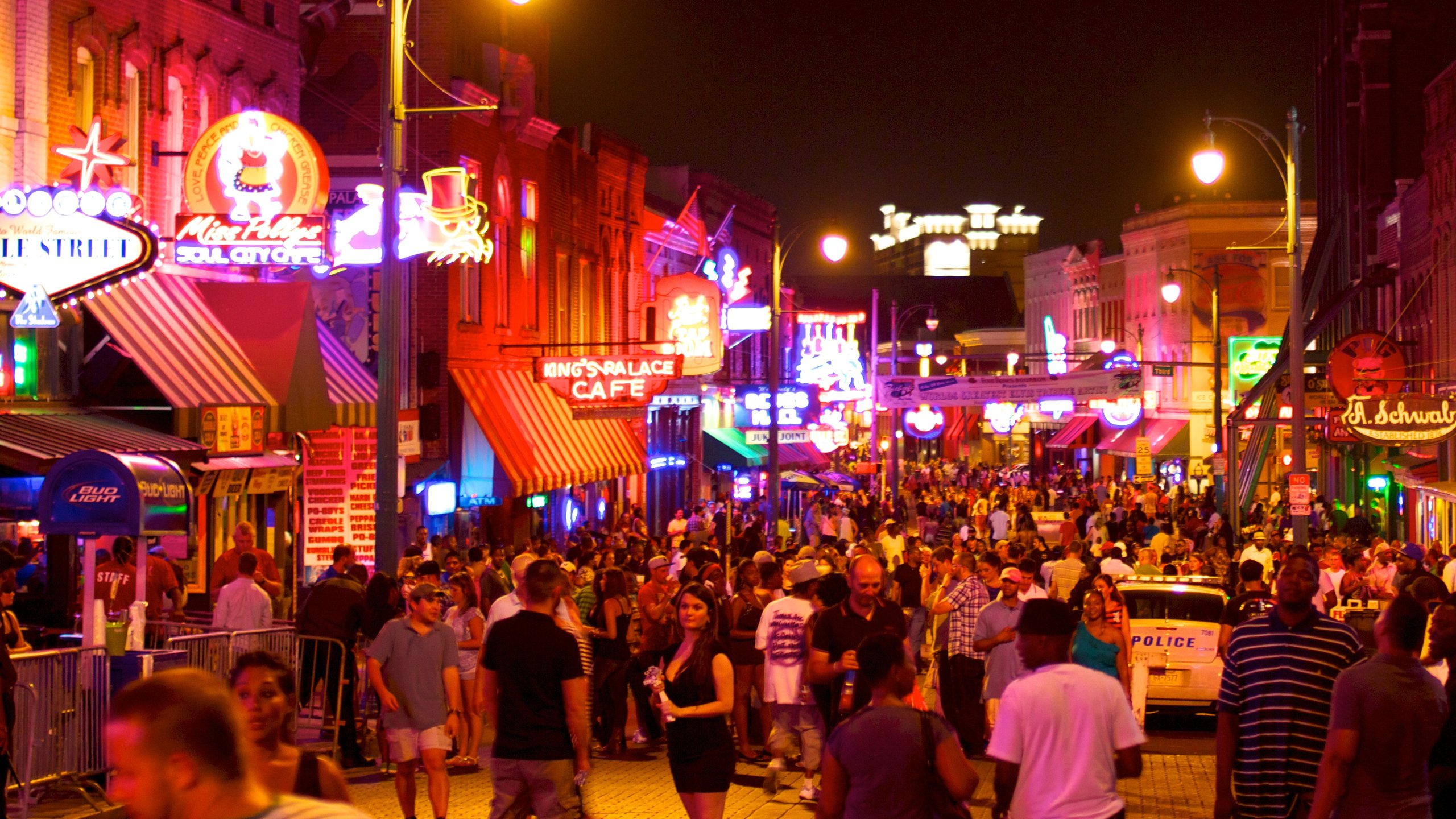 Beale Street, Memphis, Tennessee, United States of America