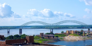 Memphis featuring a bridge and a river or creek