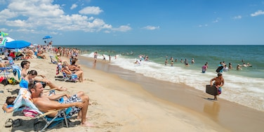 North Ocean City featuring swimming, a beach and general coastal views