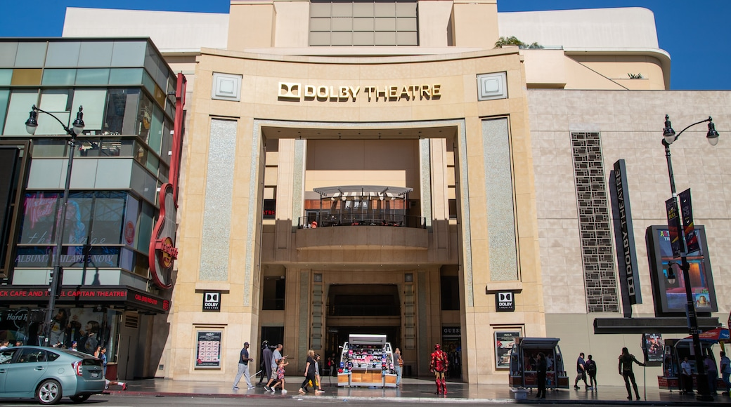 Dolby Theater which includes street scenes and signage
