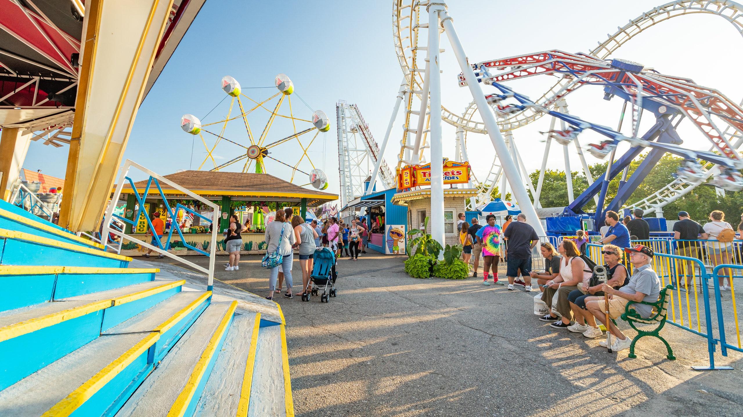 Trimper's Rides, Ocean City, Maryland, Verenigde Staten