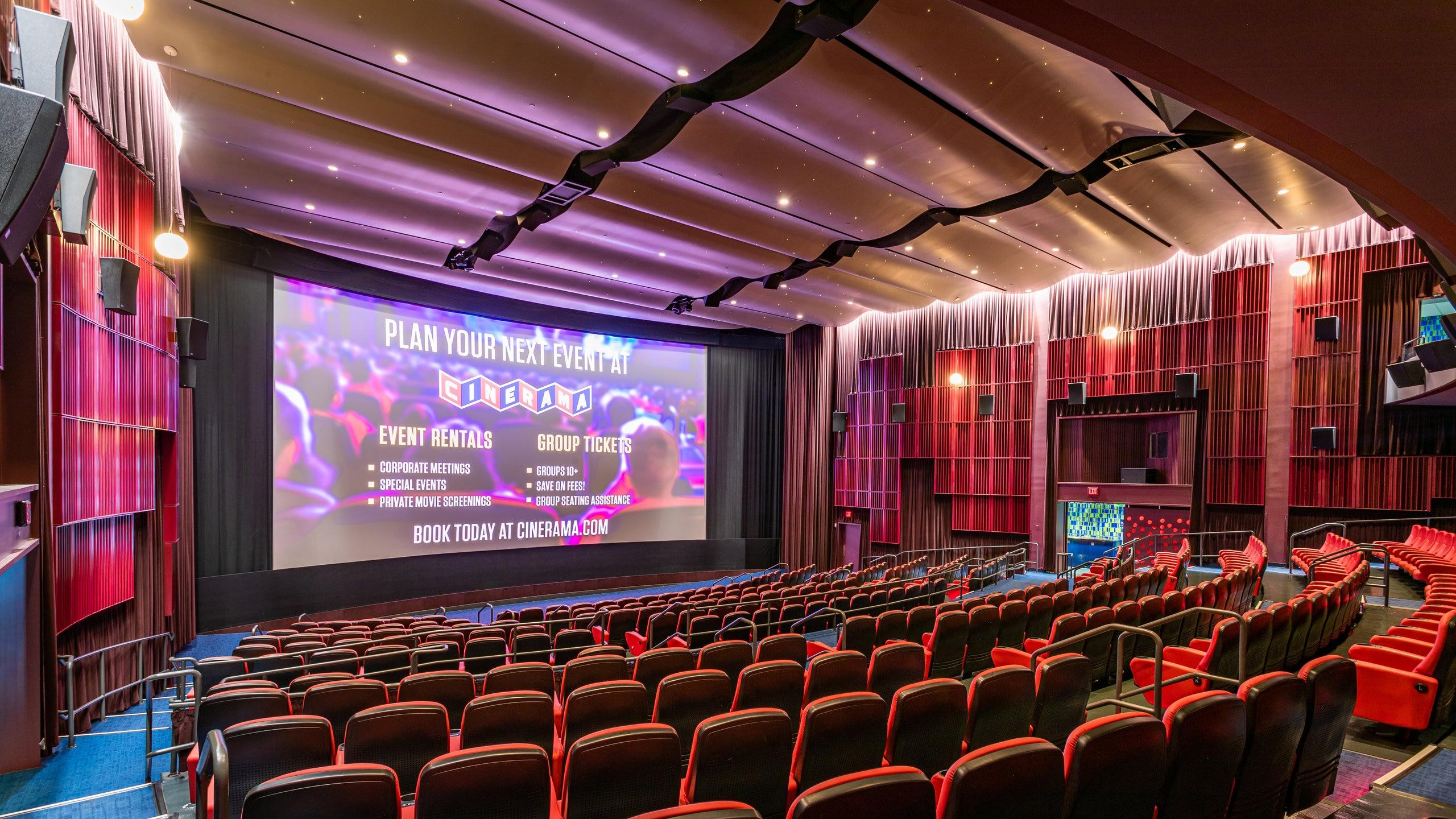 Cinerama, Seattle, Washington, United States of America