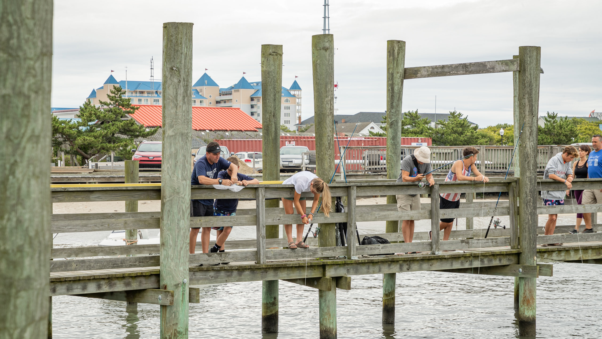 Oceanic Fishing Pier, Ocean City, Maryland, Verenigde Staten