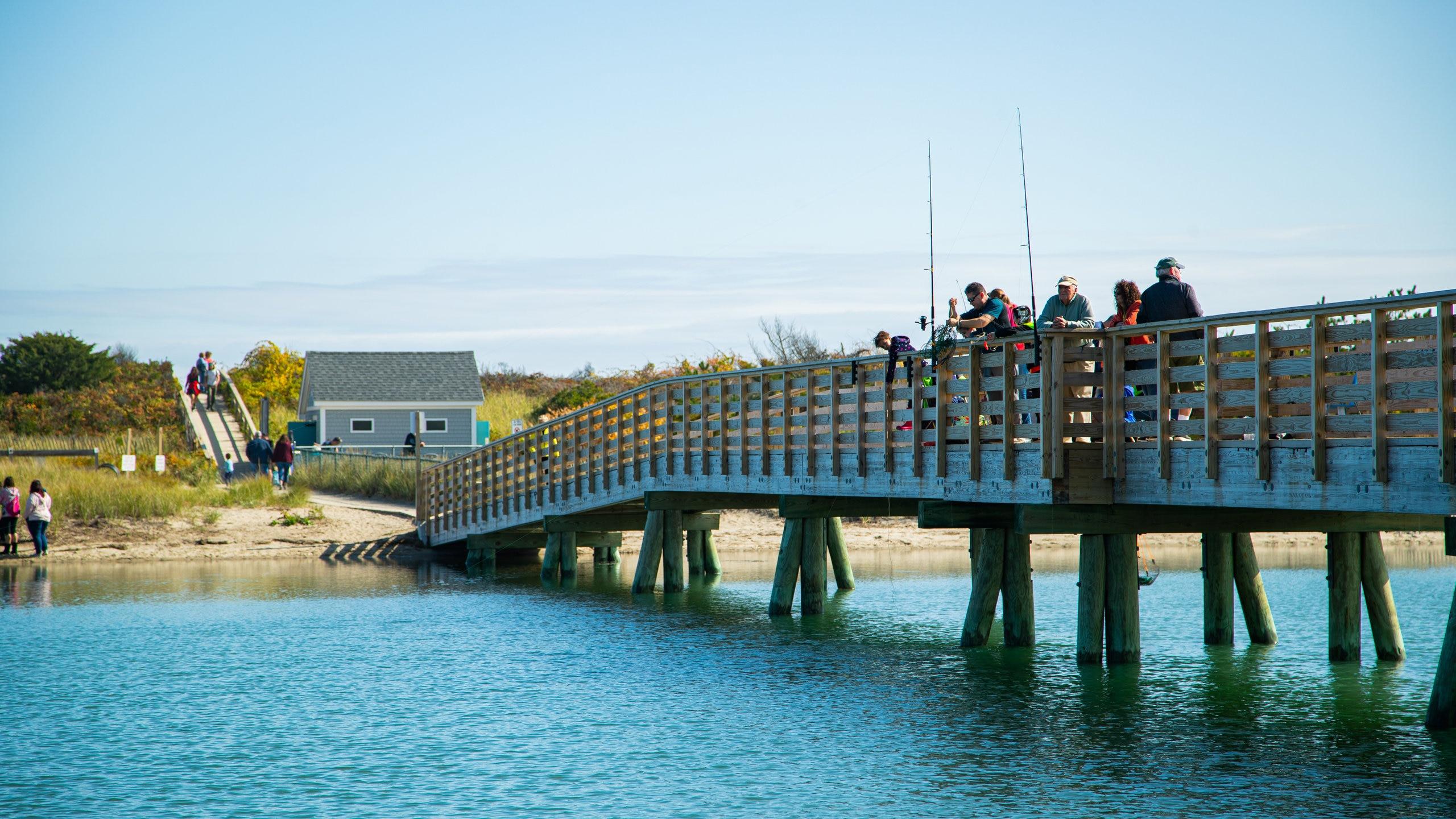 Footbridge Beach, Ogunquit, Maine, United States of America