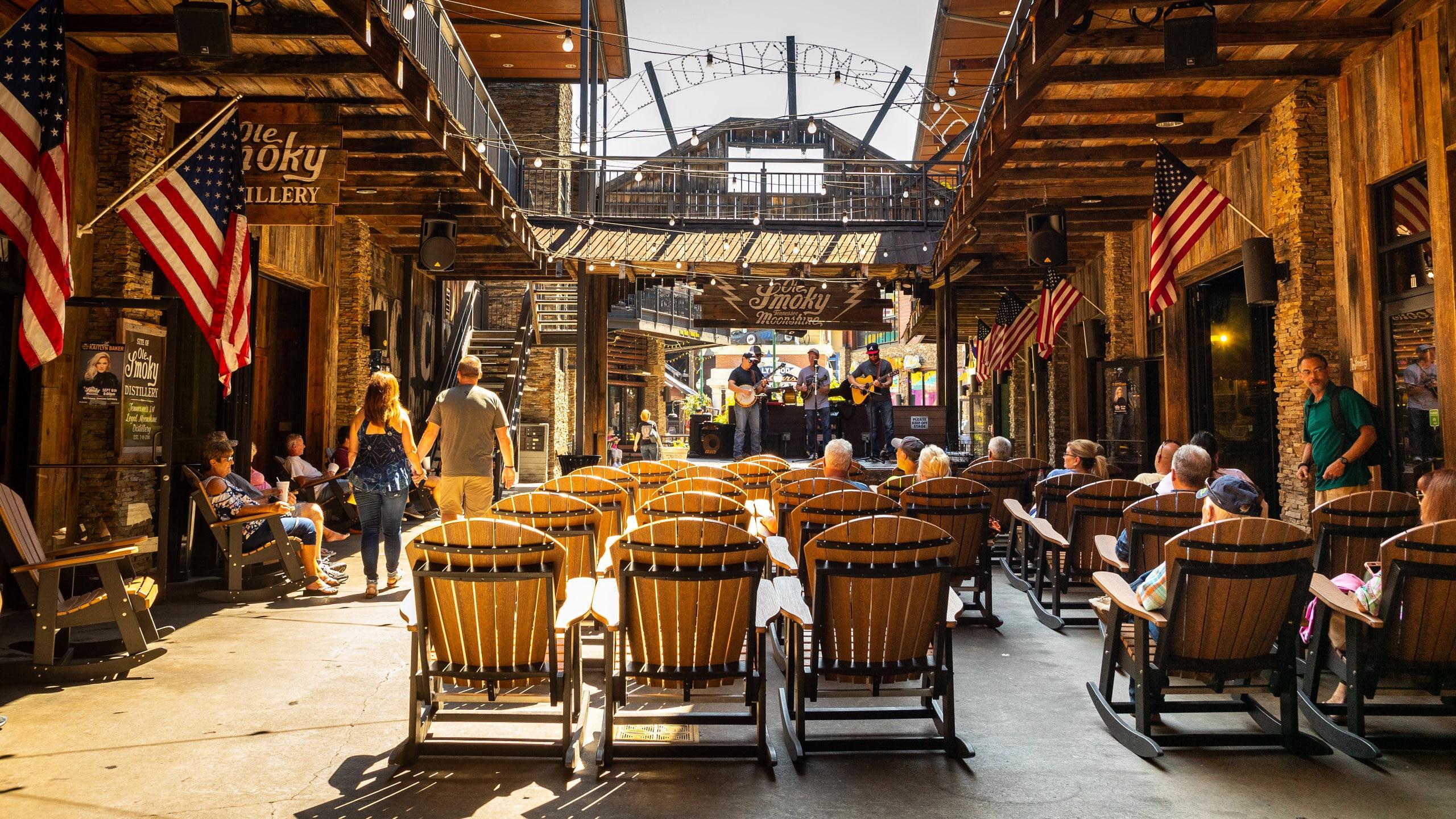 Ole Smoky Moonshine Distillery, Gatlinburg, Tennessee, United States of America