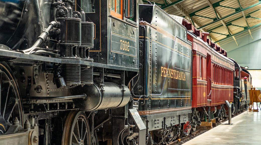 Museu ferroviário da Pensilvânia