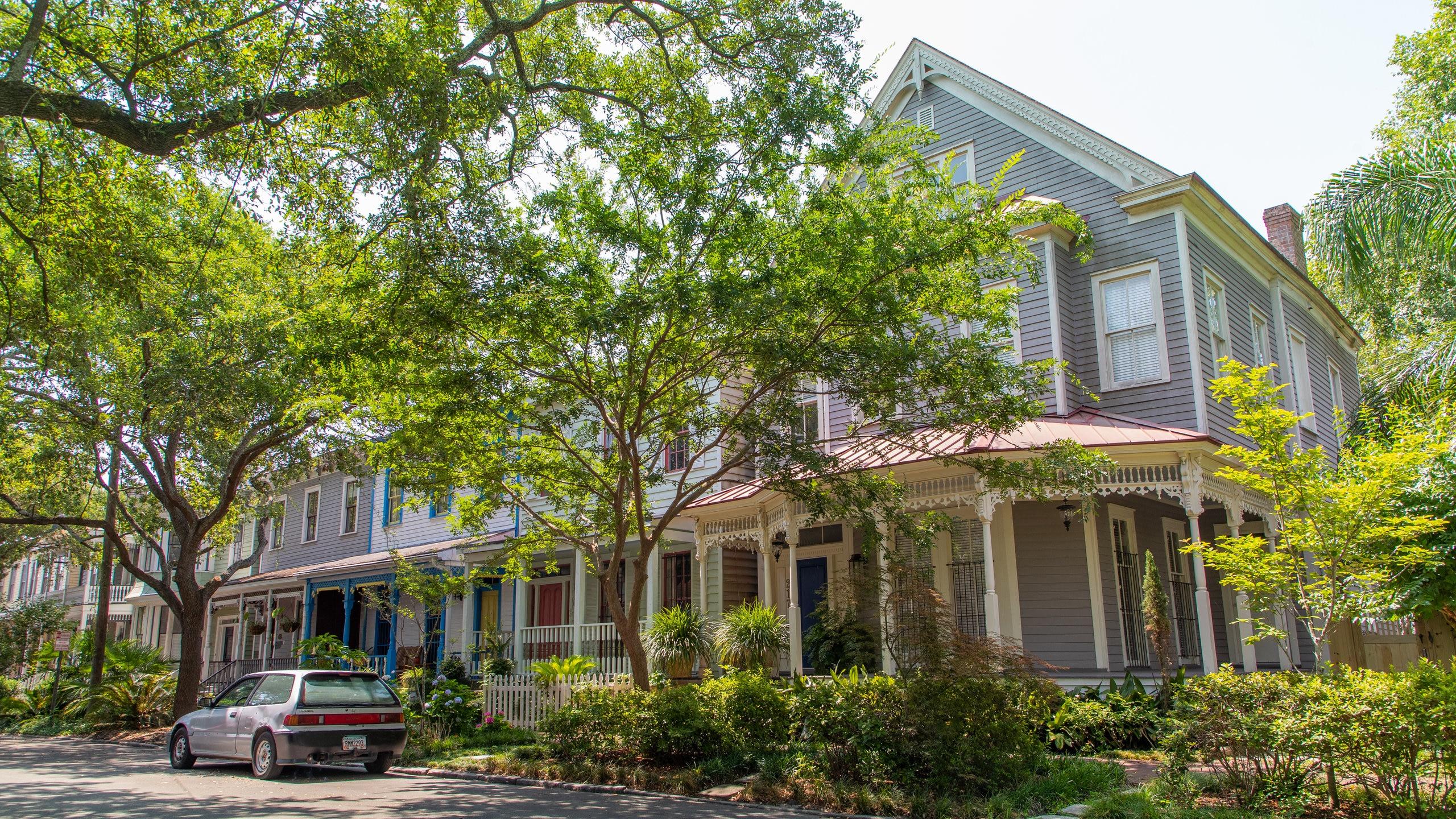 Viktorianischer Bezirk Savannah, Savannah, Georgia, USA