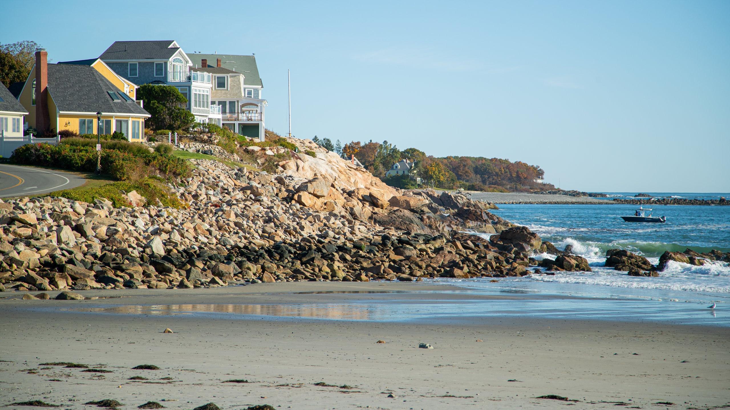 Short Sands Beach, York, Maine, United States of America