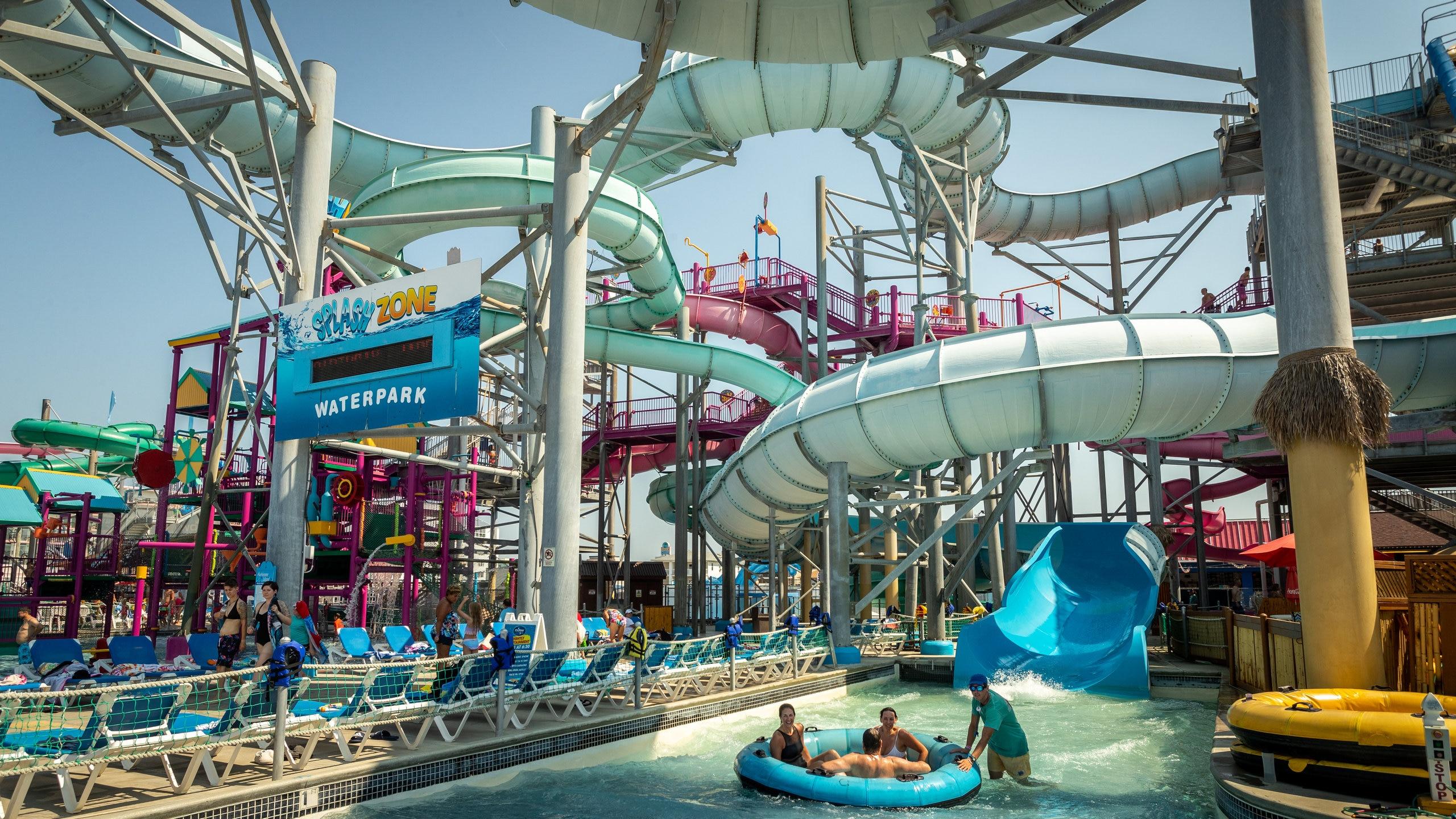 Splash Zone Water Park, Wildwood, New Jersey, United States of America