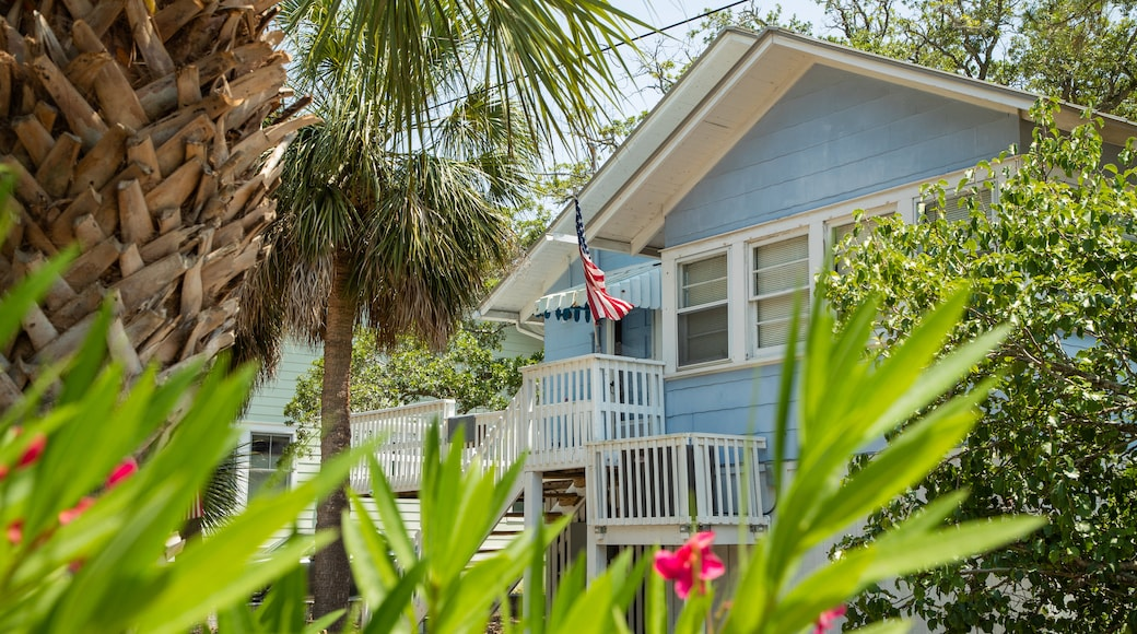 Tybee Island which includes a house