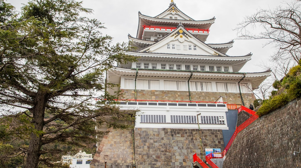 Atami Castle featuring heritage architecture