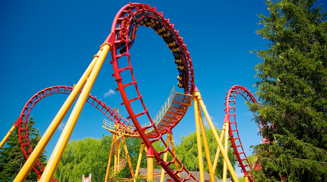 Canada\'s Wonderland which includes rides