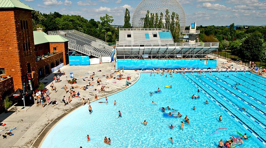Parc Jean-Drapeau das einen Schwimmen, Wasserpark und Pool