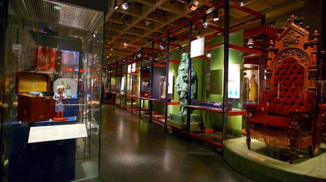 Museum of Civilization showing interior views