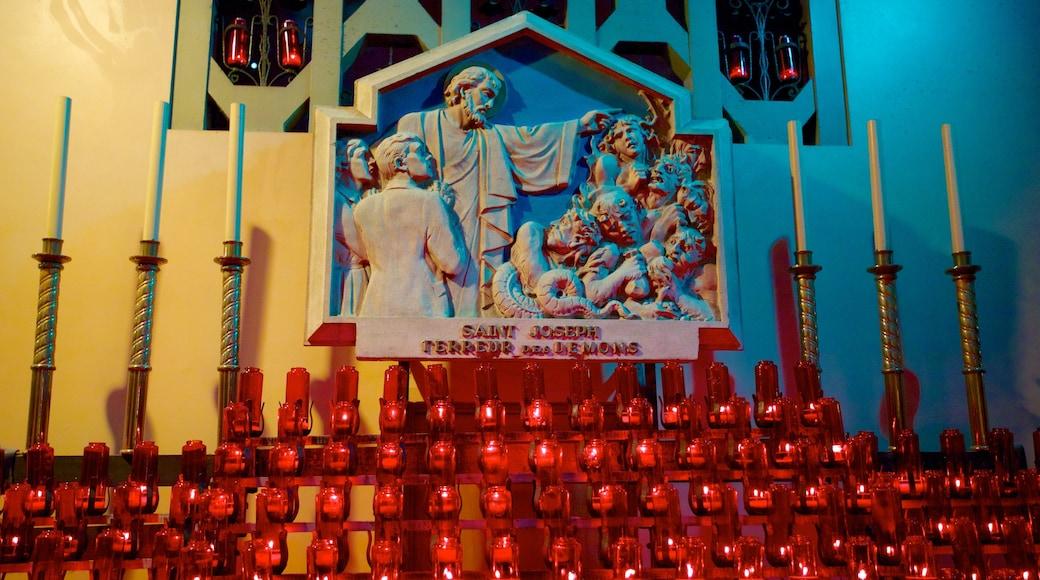 St.-Josephs-Oratorium mit einem religiöse Elemente