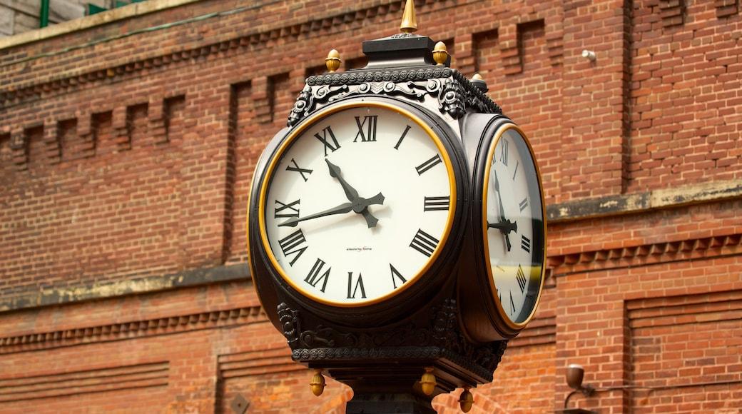 The Distillery Historic District welches beinhaltet historische Architektur
