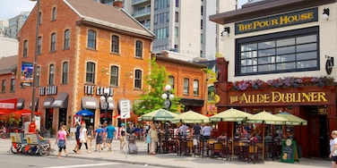 Byward Market which includes street scenes, signage and markets