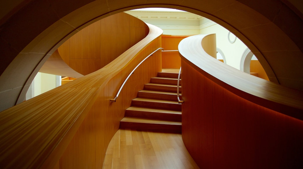 Art Gallery of Ontario which includes modern architecture, interior views and art