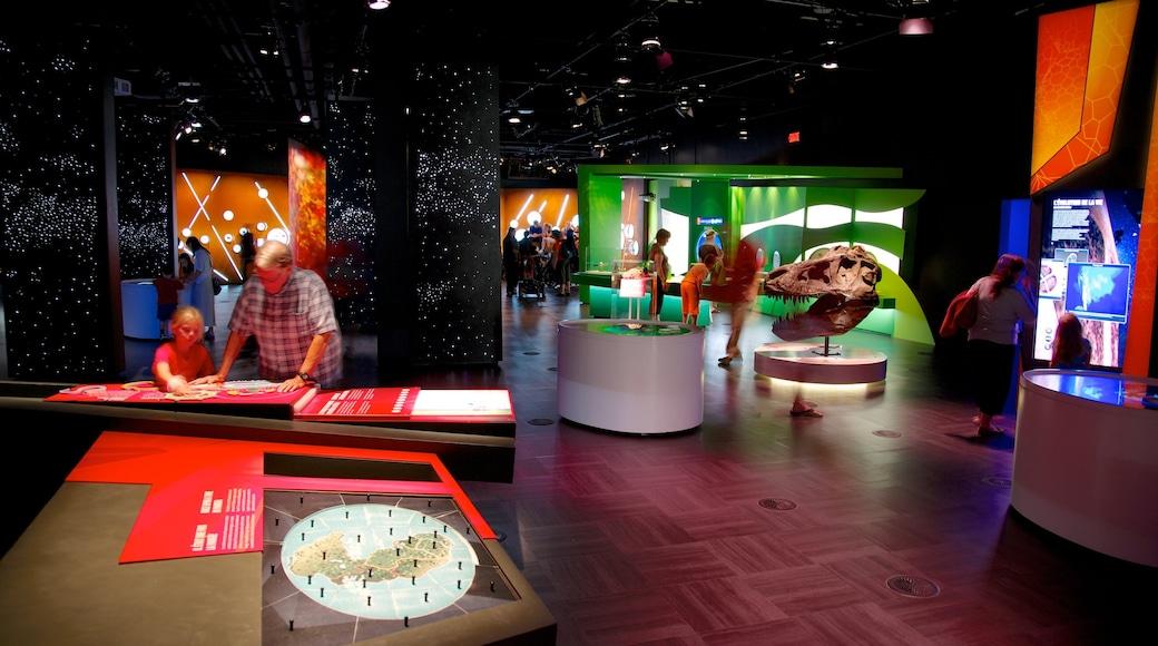 Montreal Planetarium mit einem Innenansichten