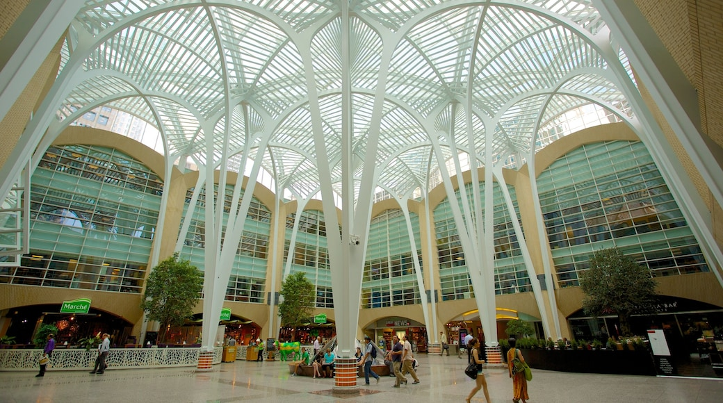 PATH Underground Shopping Mall which includes interior views, a square or plaza and a city