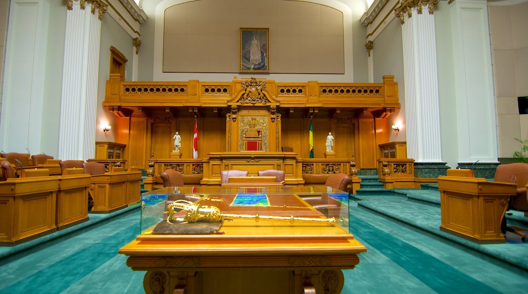 Saskatchewan Legislative Building showing heritage elements, heritage architecture and an administrative building