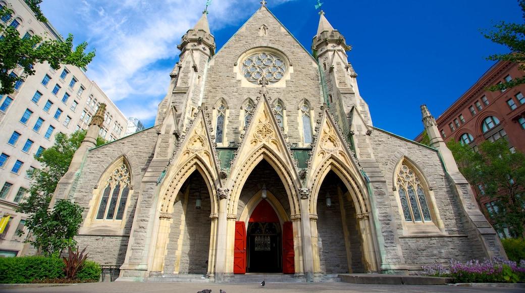 Christ Church-Kathedrale welches beinhaltet religiöse Elemente, historische Architektur und Geschichtliches