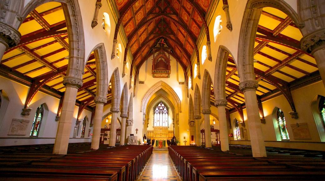Christ Church-Kathedrale welches beinhaltet Kirche oder Kathedrale, religiöse Aspekte und Innenansichten