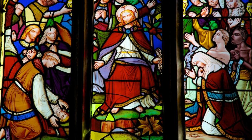 Christ Church-Kathedrale das einen Kirche oder Kathedrale, Innenansichten und religiöse Elemente