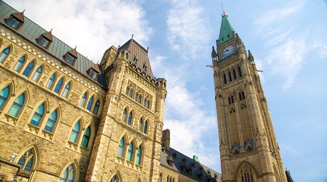 Parliament Hill das einen historische Architektur und Verwaltungsgebäude