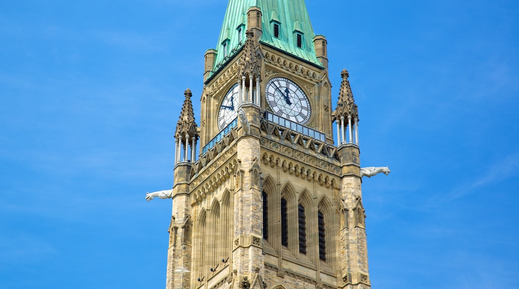 Parliament Hill featuring an administrative building and heritage architecture