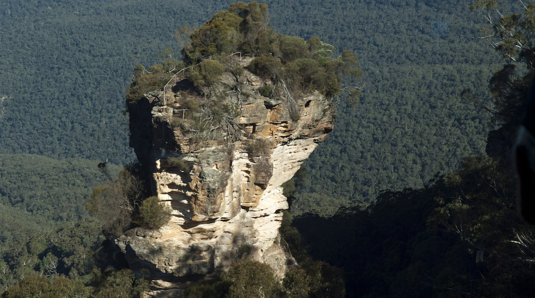 Blue Mountains which includes mountains, landscape views and tranquil scenes