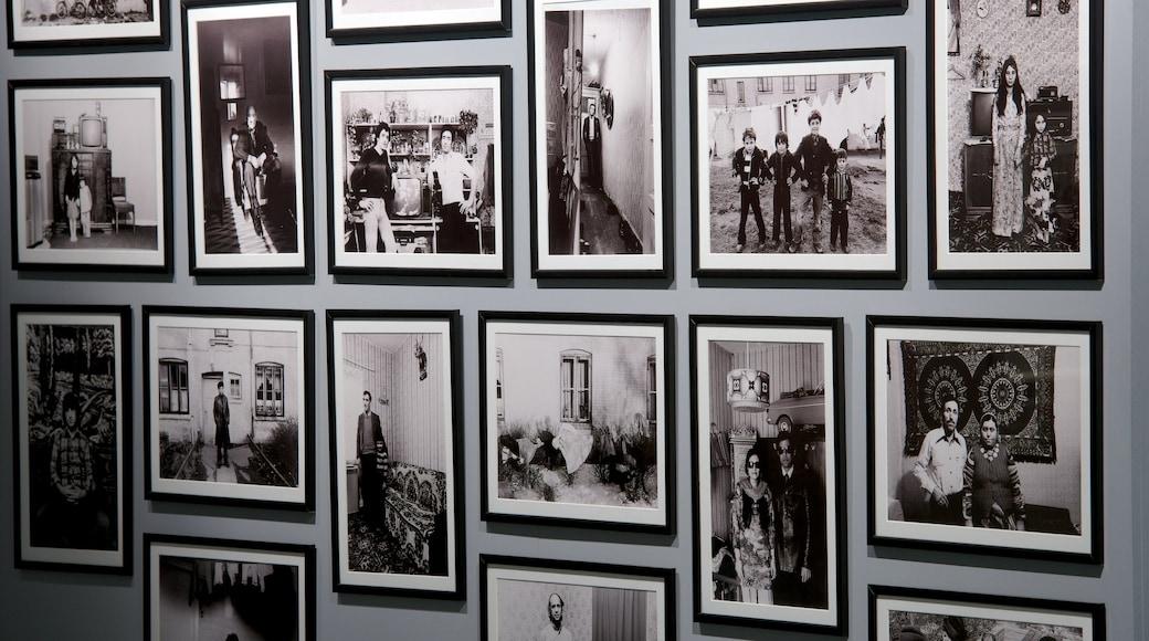 Stadtmuseum mit einem Innenansichten und Kunst
