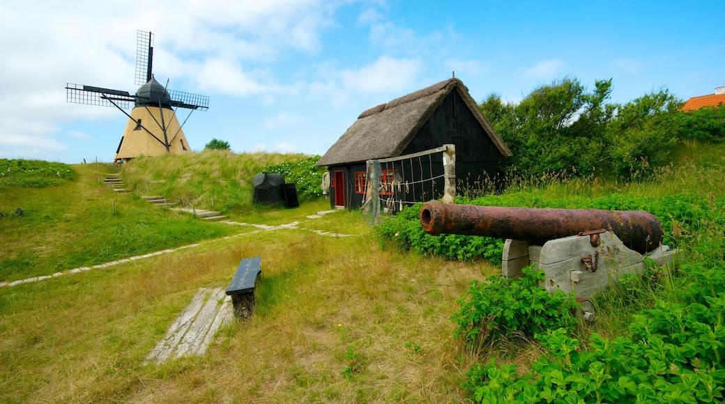 Skagen som viser vindmølle