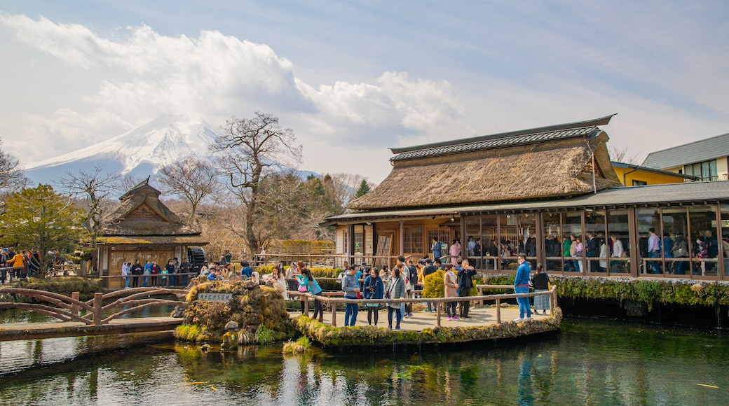 Chubu which includes a pond as well as a large group of people